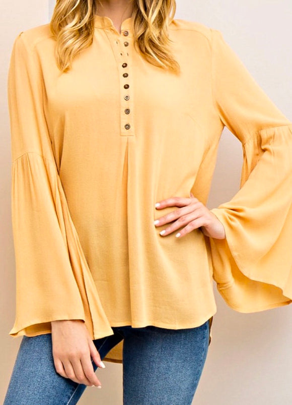 Honey Bell Sleeve Blouse