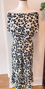 Load image into Gallery viewer, Rae Leopard Jumpsuit