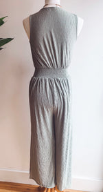 Load image into Gallery viewer, Sage Jumpsuit