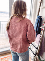 Load image into Gallery viewer, Azalea Shirt Jacket