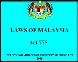 About 'Traditional and Complementary Medicine T&CM Act 2016 [ACT 775]'