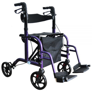 "Foldawheel Walker Manual Series (ROLLATOR) 18"" - Asian Integrated Medical Sdn Bhd (ielder.asia)"