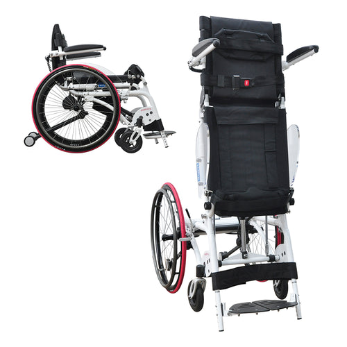 Pegasus II (Semi-Power Standing Wheelchair) - Asian Integrated Medical Sdn Bhd (ielder.asia)