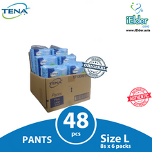 TENA Pants Plus Adult Diapers (M9 L8 x 6packs; XL12 x 4packs)