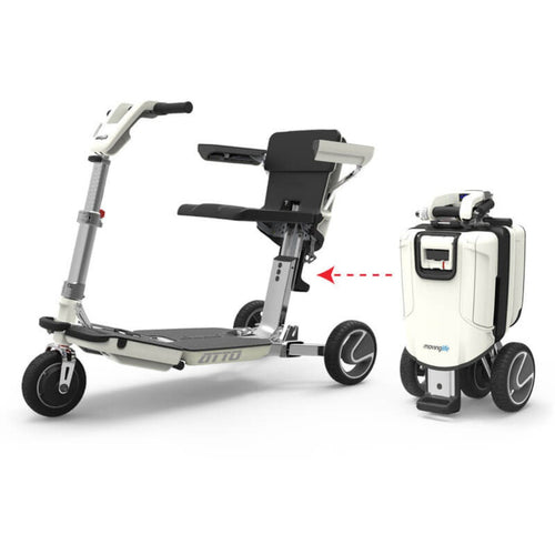 ATTO Folding Mobility Scooter - Asian Integrated Medical Sdn Bhd (ielder.asia)