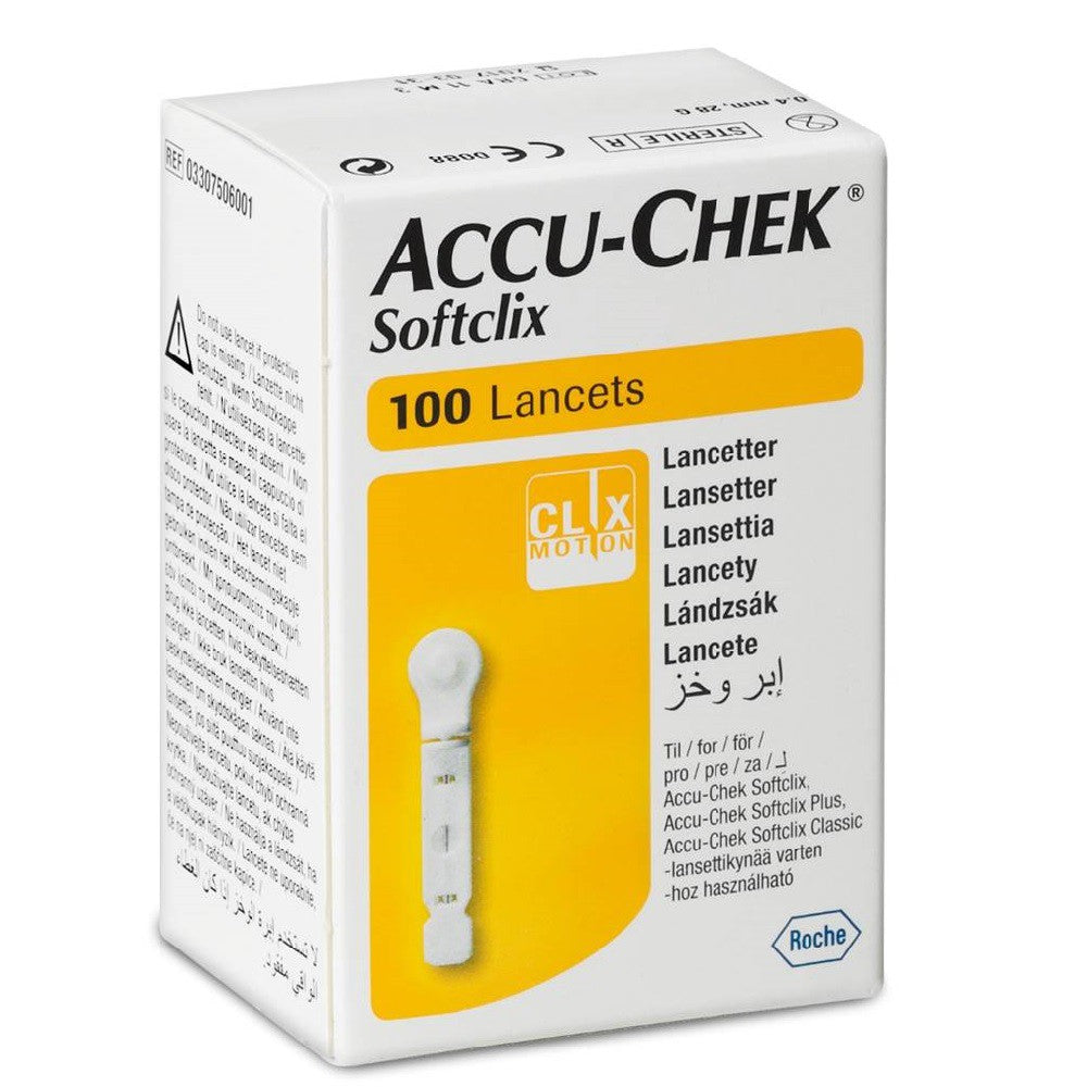 Accu-chek Instant S Blood Glucose Monitoring - Softclix Lancet 100s