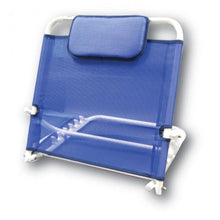 backrest with pillow blue