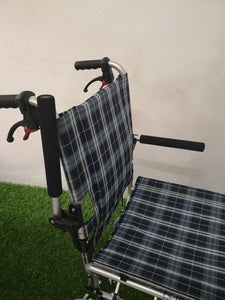 Aluminium Transit Wheelchair with Carry Bag (9kg)