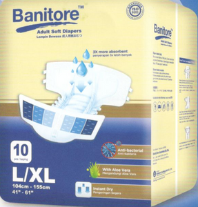 Banitore Adult Diapers Soft - Asian Integrated Medical Sdn Bhd (ielder.asia)