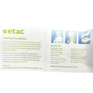 Sweden Etac Beauty kit (3 item)