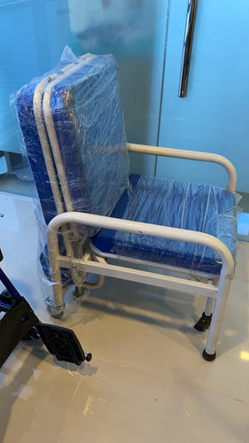 Blue Sleeper Chair - Asian Integrated Medical Sdn Bhd (ielder.asia)