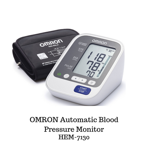 OMRON Automatic Blood Pressure Monitor (Advance-60 memory) HEM-7130