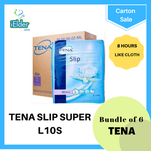 TENA  Slip Super Adult Diapers Carton L size - Asian Integrated Medical Sdn Bhd (ielder.asia)