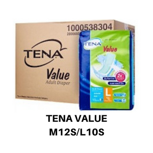Tena Value Adult Diapers Carton