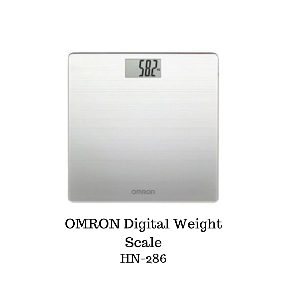 OMRON Digital Weight Scale HN-286 - Asian Integrated Medical Sdn Bhd (ielder.asia)