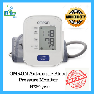 Omron Automatic Blood Pressure Monitor (Basic-1 memory) HEM-7120