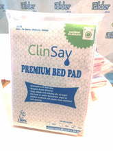 "ClinSav Premium Linen Protected Washable Bed Pad 100% waterproof, 36"" x 34"", 1pcs (M size)"