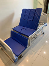 Electric Commode Hospital Bed