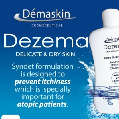 Dezema Delicate & Dry Skin Body Wash (Itchiness, dry skin and severe rashes) 500ml