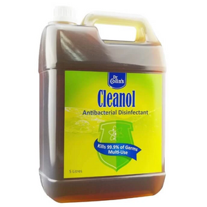 Dr Colin's Cleanol Antibacterial Disinfectant Germicide Liquid Wash 5 litre [Kill 99.9% germs] [Exp: Jan 2024]