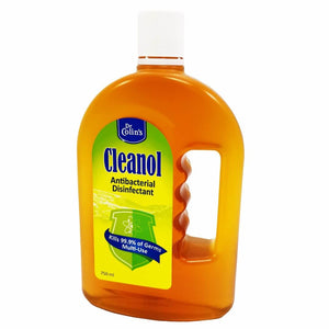 Dr Colin's Cleanol Antibacterial Disinfectant Germicide Liquid Wash 750ml [Kill 99.9% germs including Virus, Bacteria etc]