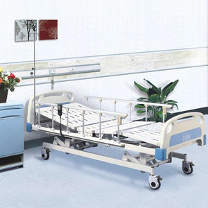 Electric Hospital Bed with Aluminium Side Rail - Asian Integrated Medical Sdn Bhd (ielder.asia)