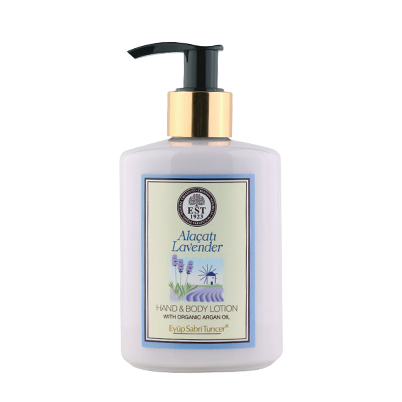 Eyup Sabri Tuncer Hand and Body Lotion with Organic Argan Oil (Lavender) (250ml)