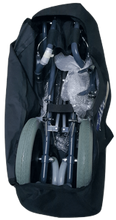 Black Easy Go Foldable Comfortable Wheelchair with Luggage Bag 10kg - Asian Integrated Medical Sdn Bhd (ielder.asia)