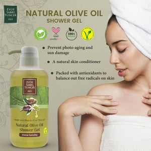 [Anti-Dandruff] Eyup Sabri Tuncer Olive Oil Shampoo (600ml)( For All Hair Types)