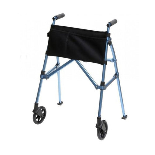 Stander EZ Fold-N-Go Walker Light and Portable Adjustable -Cobalt Blue (3.2kg) - Asian Integrated Medical Sdn Bhd (ielder.asia)