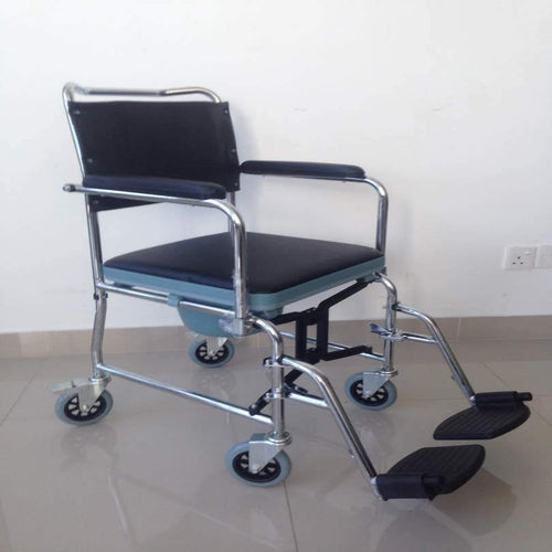 Foldable Commode Pushchair