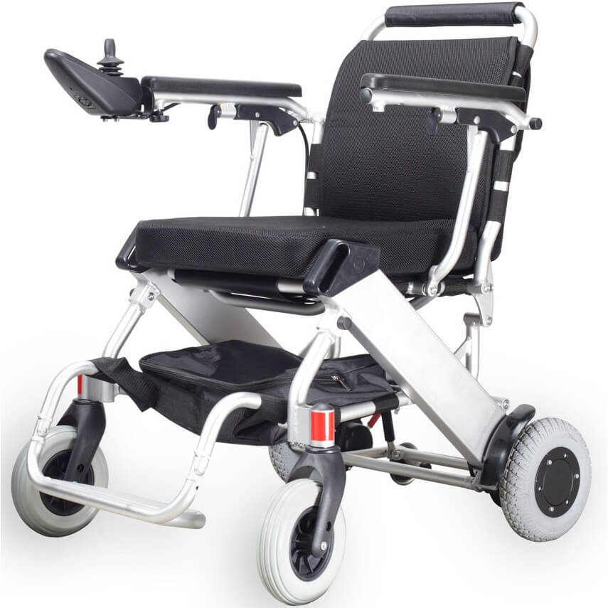 Black Ultra Light Power Wheelchair 21kg (16