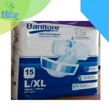 Banitore Adult Diapers Soft For Nursing Home Per Carton (15pcs / bags, 6 bags) - Asian Integrated Medical Sdn Bhd (ielder.asia)