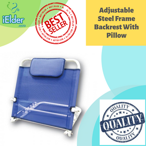 Adjustable Steel Frame Backrest With Pillow
