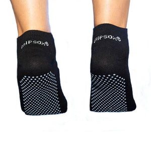 Anti Slip Safety Socks in Black (Short)