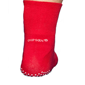 Anti Slip Safety Socks in Red
