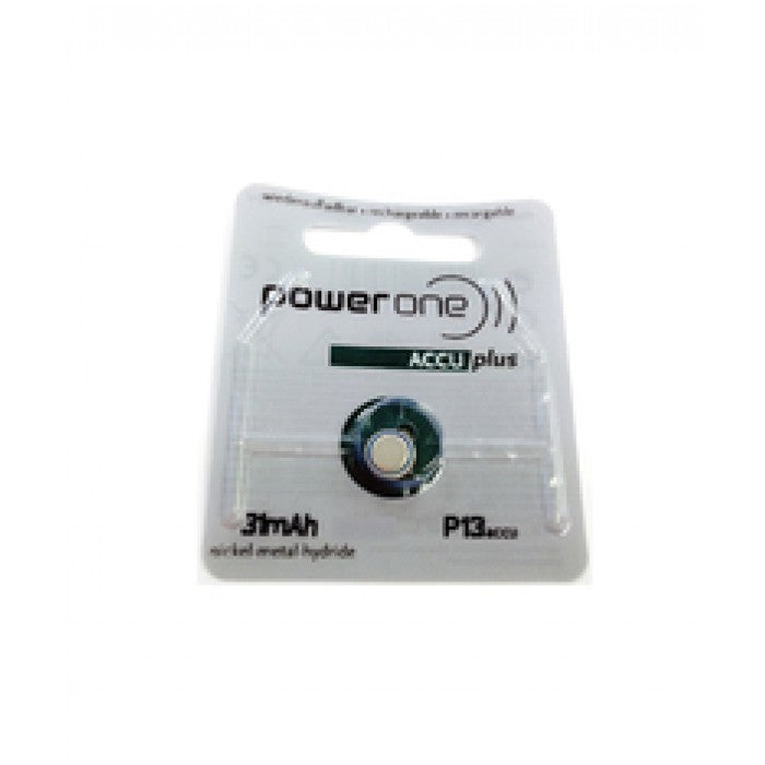 Power One Rechargeable Hearing Aids Battery ACCU (P13/P312)