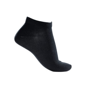 Super Conductive Ankle Socks 2 Pairs Black