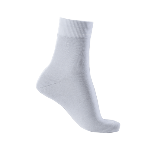 Super Conductive Short Socks 2 Pair White