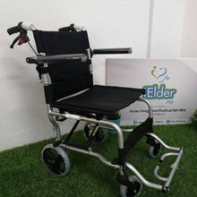 "Black Ez Aircraft Traveller Pushchair with Carry Bag 10kg (16"") - Asian Integrated Medical Sdn Bhd (ielder.asia)"
