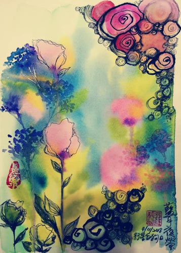 Water Color Art Class - Asian Integrated Medical Sdn Bhd (ielder.asia)