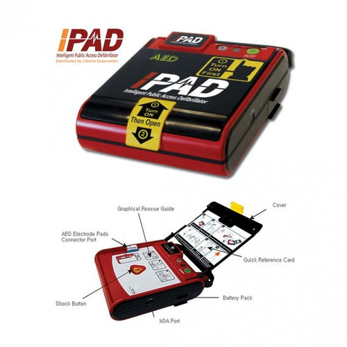 Semi-Automatic External Defibrillator iPAD NF1200 AED (Korea) - Asian Integrated Medical Sdn Bhd (ielder.asia)
