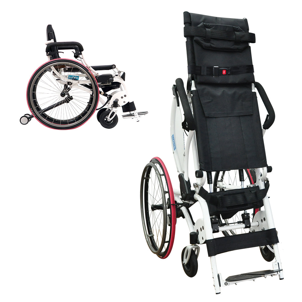 Leo II (Lightest Standing Wheelchair) - Asian Integrated Medical Sdn Bhd (ielder.asia)