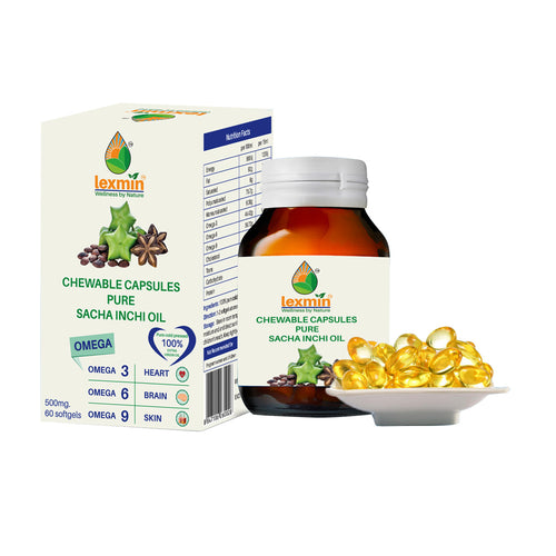 Lexmin Capsules Sacha Inchi Oil (500 mg)