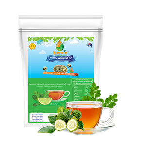 Lexmin Organic Moringa Kaffir Lime Tea (30 Sachets) - Asian Integrated Medical Sdn Bhd (ielder.asia)
