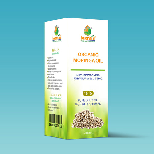 Lexmin Organic Moringa Oil (30 ml)