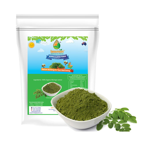 Lexmin Organic Moringa Powder (1Kg) - Asian Integrated Medical Sdn Bhd (ielder.asia)