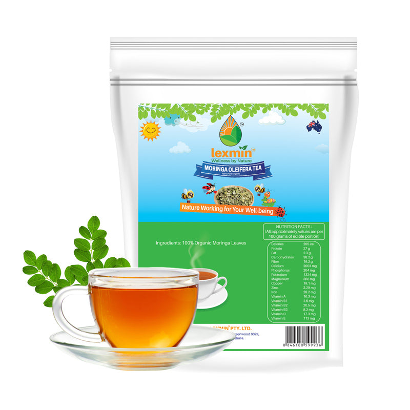 Lexmin Organic Moringa Tea (30 Sachets) - Asian Integrated Medical Sdn Bhd (ielder.asia)