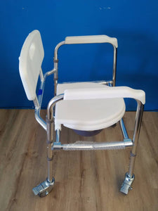 Light Commode Mobile Chair with Adjustable Aluminium Frame - Asian Integrated Medical Sdn Bhd (ielder.asia)