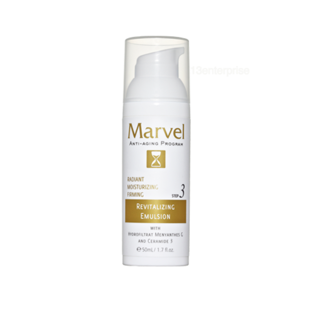 Marvel Anti-Aging Revitalizing Emulsion (Step 3) / 50ML - Asian Integrated Medical Sdn Bhd (ielder.asia)